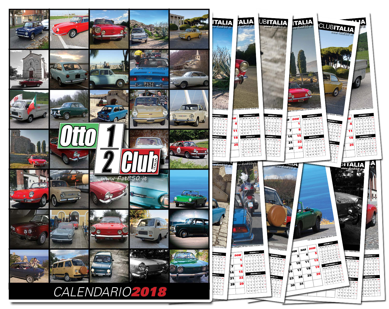 Prenotazione acquisto calendario 2018