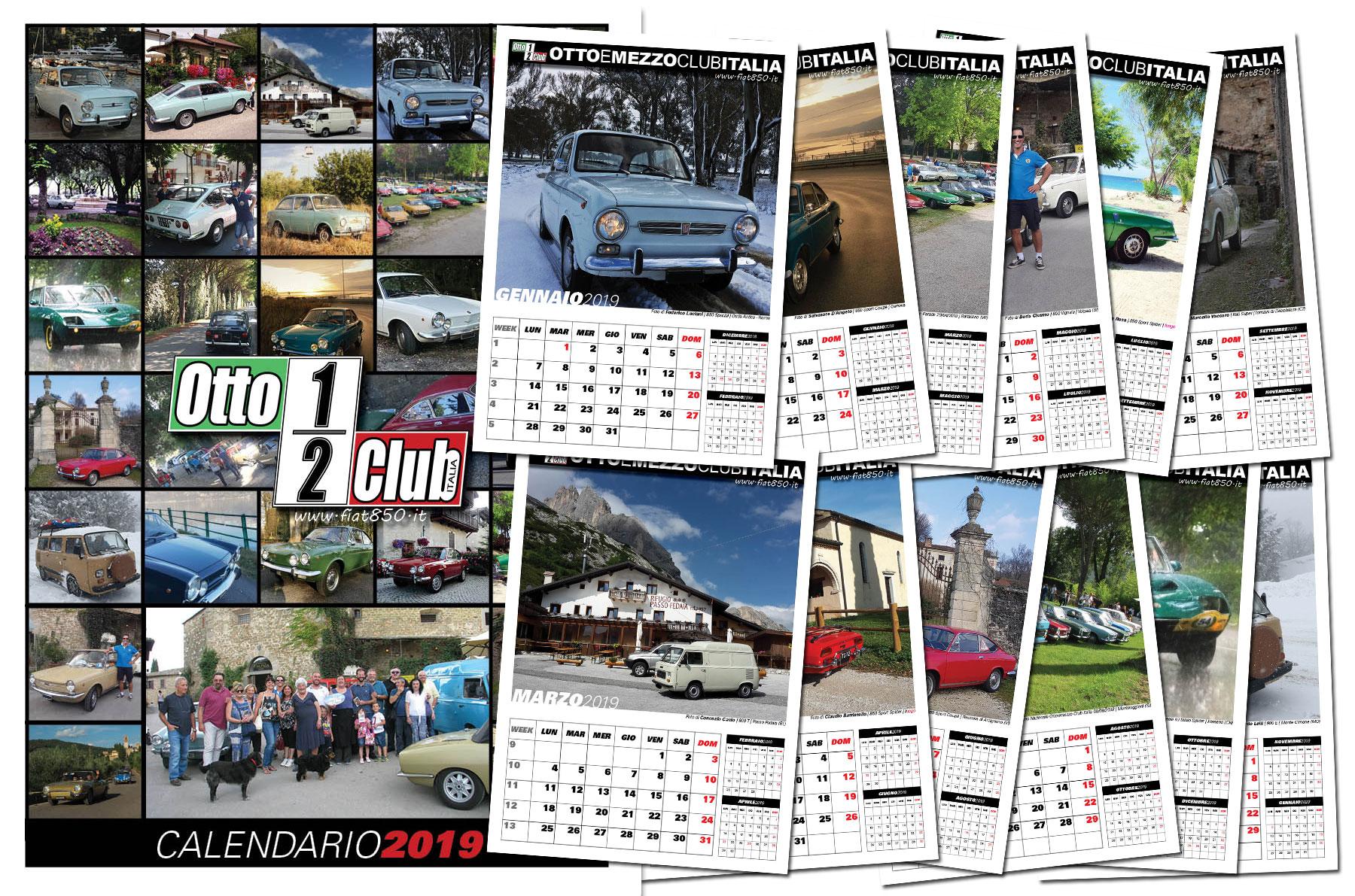 Prenotazione acquisto calendario 2019